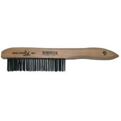 Picture of ANCHOR CARBON STEEL SHOEHANDLE BRUSH - 34249