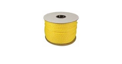 "Picture of 33729 - 1/4""X600' TWISTED POLYLITE YELLOW"