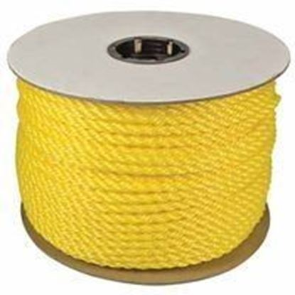 "Picture of 33730 - 3/8""X600' TWISTED POLYLITE YELLOW"